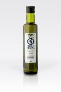 Botella aceite de oliva virgen extra Sierra Serena 250 ml dórica