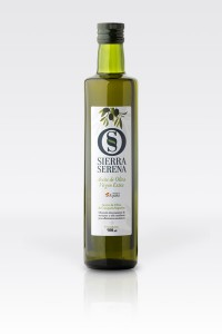 Botella aceite de oliva virgen extra Sierra Serena 500 ml dórica