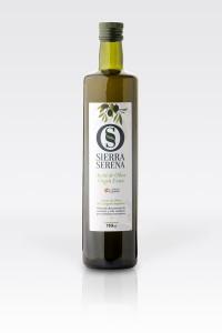 Botella aceite de oliva virgen extra Sierra Serena 750 ml dórica