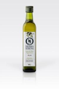 Botella aceite de oliva virgen extra, Sierra Serena, 500 ml marasca