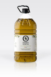 Botella aceite de oliva virgen extra Sierra Serena, 5l pet